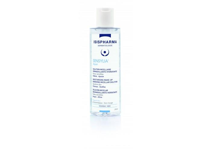 Isispharma Sensilia Aqua (Сенсилия Аква) Увлажняющая мицеллярная вода для снятия макияжа для чувствительной и обезвоженной кожи 100 мл