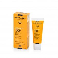 Isispharma UVEBLOCK FLUIDE INVISIBLE SPF 50+ (Увэблок флюид инвизибл СПФ 50+) Флюид с очень высокой степенью защиты от солнечного излучения, 40мл
