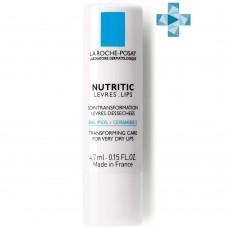 LA ROCHE-POSAY NUTRITIC LEVRES Питательный бальзам для глубокого восстановления кожи губ, 4,7 мл