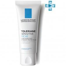 LA ROCHE-POSAY TOLERIANE SENSITIVE Riche Увлажняющий уход для сухой чувствительной кожи с пребиотической формулой, 40 мл