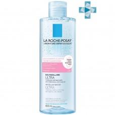 LA ROCHE-POSAY ULTRA REACTIVE Мицеллярная вода для чувствительной и склонной к аллергии кожи лица и глаз, 400 мл