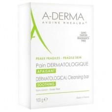 A-Derma Dermatological Bar мыло с молочком овса 100 г
