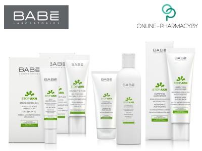 STOP AKN марки BABÉ Laboratorios – гамма средств, созданных для здоровья и сияния жирного типа кожи и склонной к образованию акне