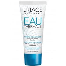Uriage О'ТЕРМАЛЬ Крем обогащенный увлажняющий для сухой и очень сухой кожи лица \ EAU THERMALE CREME D'EAU RICHE, 40 мл
