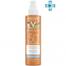 VICHY CAPITAL IDEAL SOLEIL Мультипозиционный спрей для кожи детей SPF50+, 200 мл