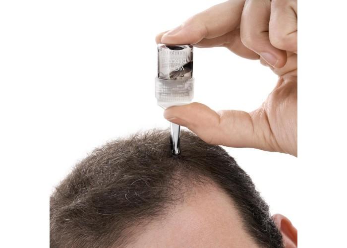 VICHY DERCOS AMINEXIL Intensive 5 средство против выпадения волос для мужчин, 21 шт