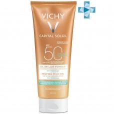 Vichy Capital Ideal Soleil тающая эмульсия с технологией нанесения на влажную кожу SPF50, 200 мл