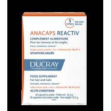 DUCRAY Анакапс Reactiv биологически активная добавка к пище 30 капсул