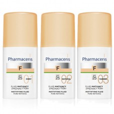 Pharmaceris F Матирующий тональный флюид SPF 25 (тон: 01) 30 мл