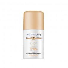 Pharmaceris F Защитный тональный флюид SPF50+ (тон: 02 песочный) 30 мл