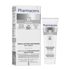 Pharmaceris W Осветляющий дневной крем для лица тройного действия SPF50+  Albucin 30 мл