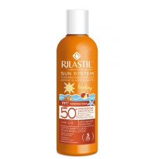 Rilastil SUN SYSTEM PPT BABY Лосьон для детей SPF 50+ для чувствительной кожи с pro-DNA complex 200 мл