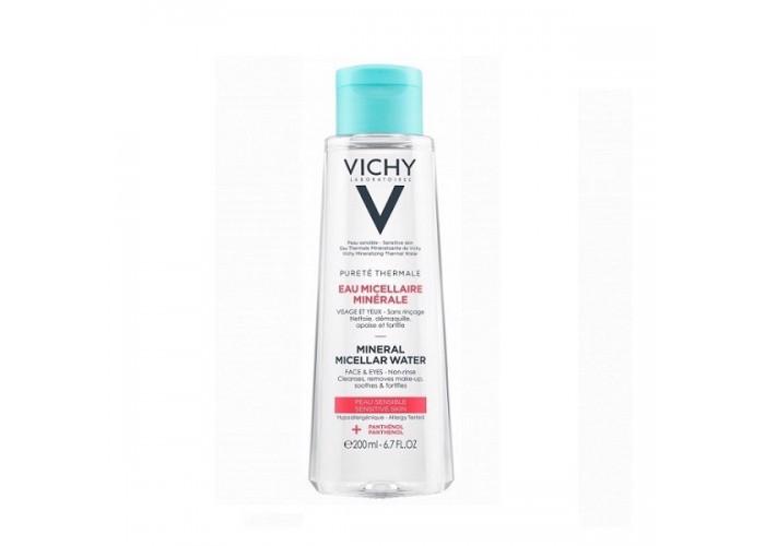 VICHY PURETE THERMALE Вода мицеллярная с минералами для чувствительной кожи 200 мл