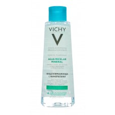 VICHY PURETE THERMALE Вода мицеллярная с минералами для жирной и комб. кожи 200 мл