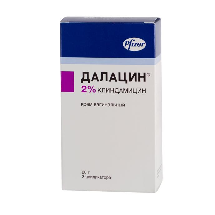 Вагинальный крем Далацин